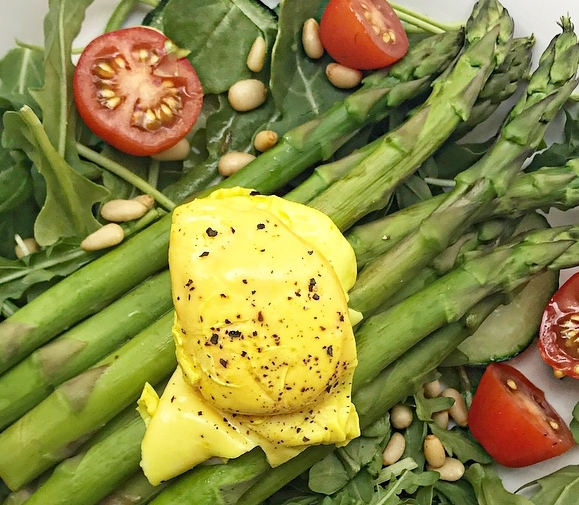 Turmeric Poached Egg
