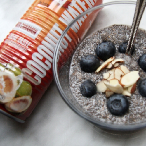 Cinnamon, Coconut & Almond Chia Pudding