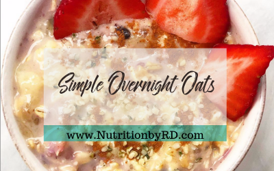 Simple Overnight Oats