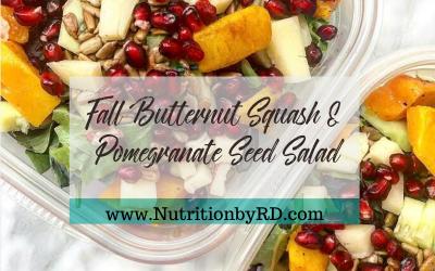 Butternut Squash & Pomegranate Seed Salad