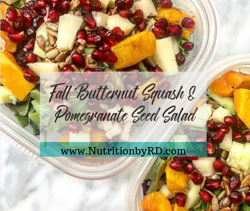 Butternut Squash & Pomegranate Seed Salad