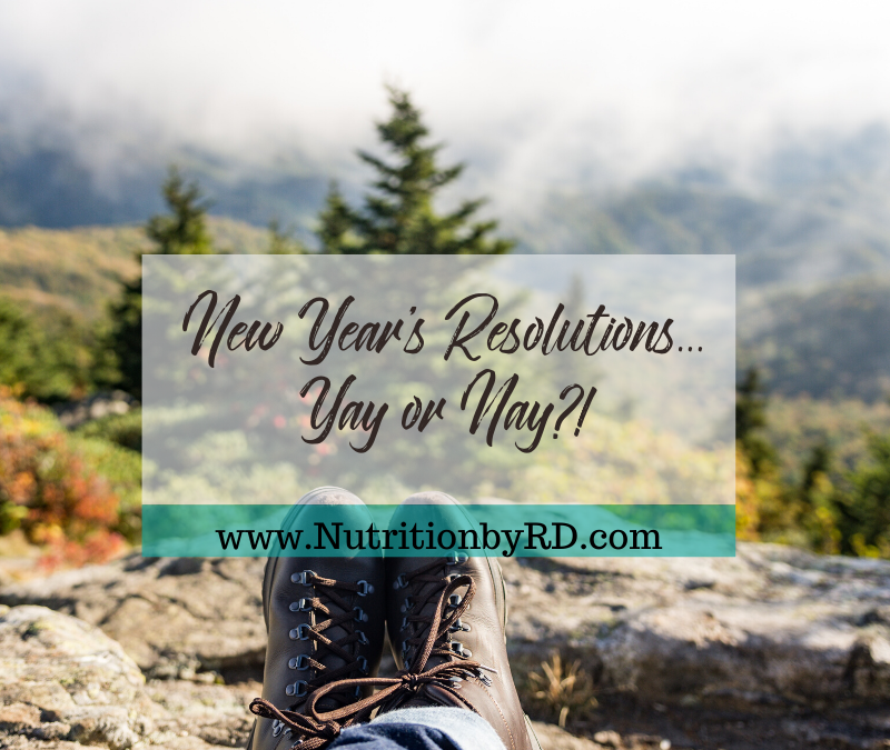 New Year's Resolutions… Yay or Nay?!
